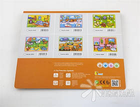 Рамка-вкладыш Viga Toys Транспорт 56436, фото 2