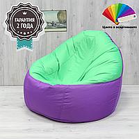 """Кресло-Мешок Sanchobag """"Комфорт"""" 110x85 см (ткань: кожзам)"""