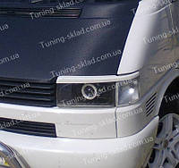Реснички Фольксваген Транспортер Т4 (накладки на передние фары Volkswagen Transporter T4)