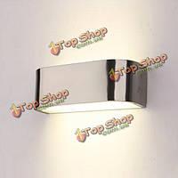 Современный минималистский алюминиевый LED настенный светильник спальня проходу крыльце свет