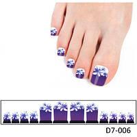 Фотодизайн для ногтей «Лилии»