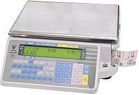 Весы с чекопечатью DIGI SM 300 B на 30 кг.