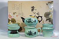 Набор Посуды #9 (чайник, 6 чашек, чахай, сито), фото 1
