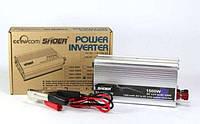 Преобразователь напряжения, инвертор AC/DC 12V-230V 1500W SHOER