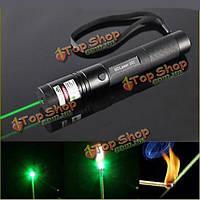 G301 фокус сжечь 532nm зеленый лазерный указатель перо лазер видимого луча 5mw