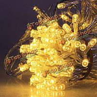 30м 300 LED декоративные LED строку света на Рождество партии события переменного тока 220В