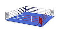 Боксерский ринг Ковер 5,5*5,5м, канаты 4,5м.
