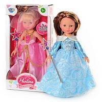 """Лялька муз. М 1113 R/830 С """"Paolina"""" 34см.принцеса"""