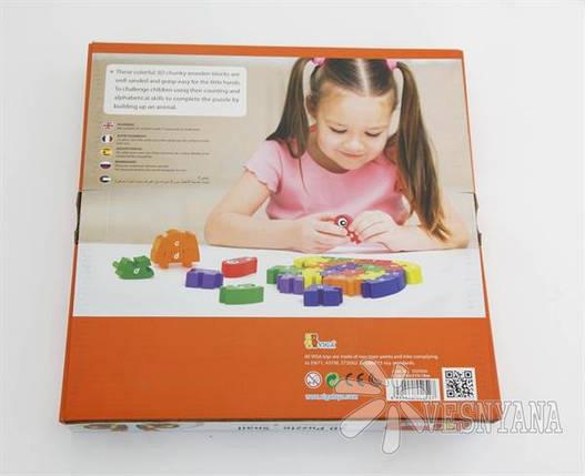 Пазл 3D Viga Toys Улитка 55252VG, фото 2