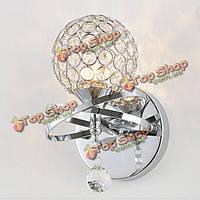 Декоративный кристалл настенный светильник монтируется свет крыльцо освещение