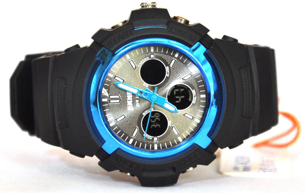 Часы Skmei AD1149 bk-blue