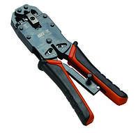 Кримпер универсальный для телефонных и компьютерных разъемов КР-468У