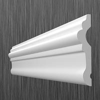 Плинтус потолочный молдинг Киндекор U-80 (80 мм)