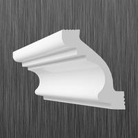 Плинтус потолочный багет Киндекор C-50 (55*50)