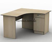Угловой письменный стол  СПУ-3,120*120, дуб молочный