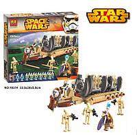 """10374 конструктор BELA серии Star Wars, """"Десантный самолет Боевых Дроидов"""" 565 дет."""