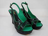 Босоножки Etor 05-103891 39 зеленые, фото 1