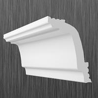 Плинтус потолочный багет Киндекор B-45 (45*32)
