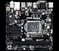 Материнская плата GIGABYTE GA-H110N H110 2xDDR4 H110 2xDDR4 HDMI-DVI-VGA mITX