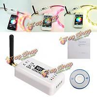 В RGB LED прокладки контроллер мобильного телефона смартфона андроид беспроводная WiFi