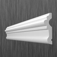 Профиль настенный молдинг Киндекор U-50 (58мм)