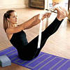 Йога ремень резиновый