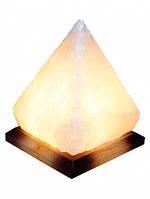 """Соляной светильник """"Пирамида"""" 5-6кг с обычной лампочкой"""