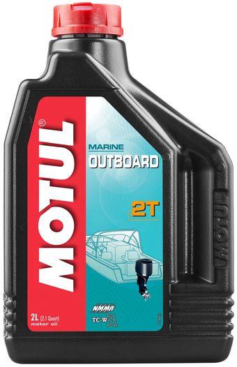Масло MOTUL OUTBOARD 2T  2л (851821)