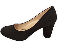 Женские туфли на маленьком каблуке 35-41рр.
