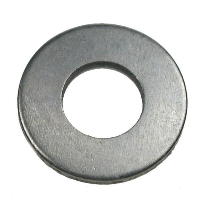 Шайби плоскі сталеві