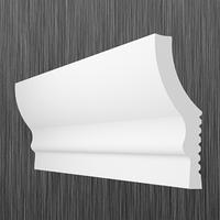 Плинтус потолочный багет Киндекор N-60 (18*58)