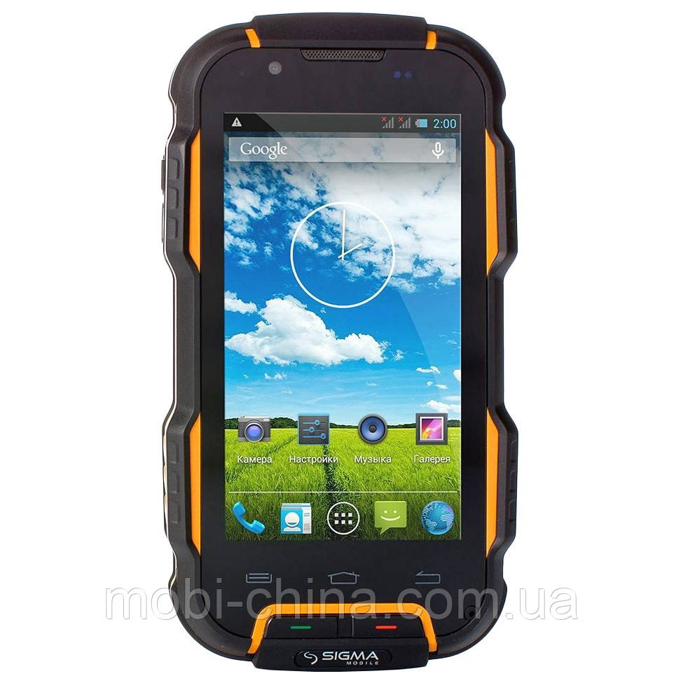 Смартфон Sigma mobile X-treme PQ23 Dual Black-Orange