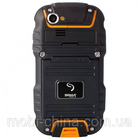 Смартфон Sigma mobile X-treme PQ23 Dual Black-Orange , фото 2