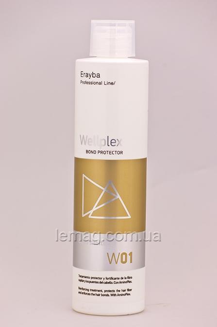 Erayba Professional Wellplex W01 Средство для защиты волос во время окрашивания и осветления, 500 мл