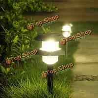 Солнечный приведенный в действие двойной слой LED свет лужайки тропа для освещения сада