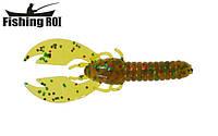 Сьедобный силикон Fishing ROI Incredible Craw 70mm D057