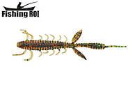 Сьедобный силикон Fishing ROI Shaggi Grub 80mm D010