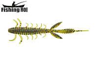 Сьедобный силикон Fishing ROI Shaggi Grub 80mm D050