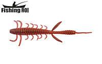 Сьедобный силикон Fishing ROI Shaggi Grub 80mm D030