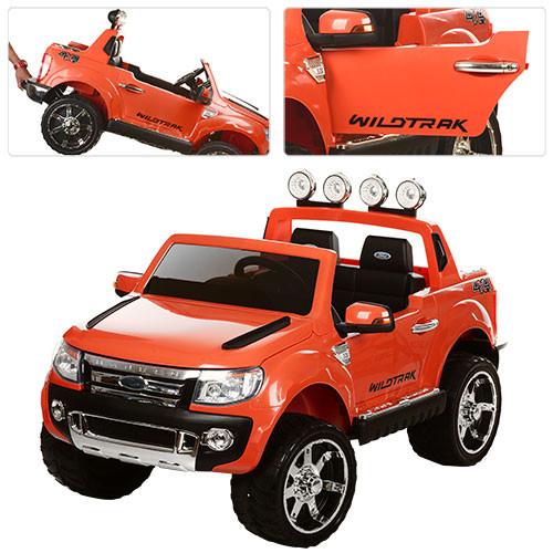 Детский электромобиль джип M 2764EBR-7 оранжевый