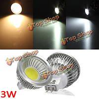 Сид MR16 3вт 300-330lm удара dimmable LED пятно света лампы лампы постоянного тока/12В переменного тока