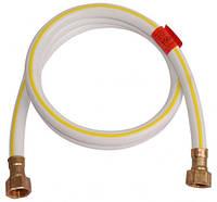 Шланг газовый резиновый белый гайка-гайка L50