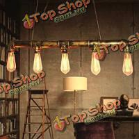 Бар личность промышленная трубопроводная щелочных луковицы подвесной светильник 110-220V