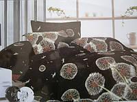 Сатиновый двухспальный комплект с 3D рисунком, фото 1