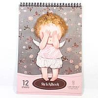 Альбом для рисования ТМ Гапчинская 0521 (формат А3, 12 листов)