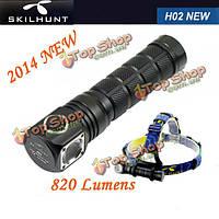 Skilhunt новый H02 CREE XML2 CW/NW5 режиме 820lm LED фара