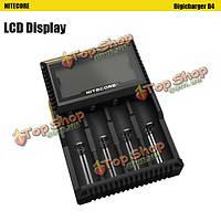 Nitecore Digicharger D4 универсальное зарядное устройство с LCD  дисплеем
