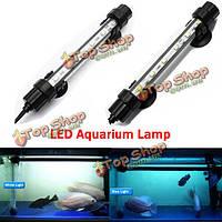 18см аквариумных рыб бак водонепроницаемый LED Свет бар погружной