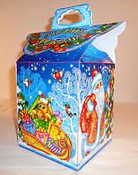 """Новогодняя упаковка """"Новогоднияя конек 700г.""""скидка только для оптовиков"""