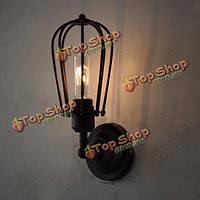 Американский стиль Винтаж Эдисон люстра промышленный светильник стены
